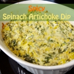 Spinach Artichoke Dip 3 with text