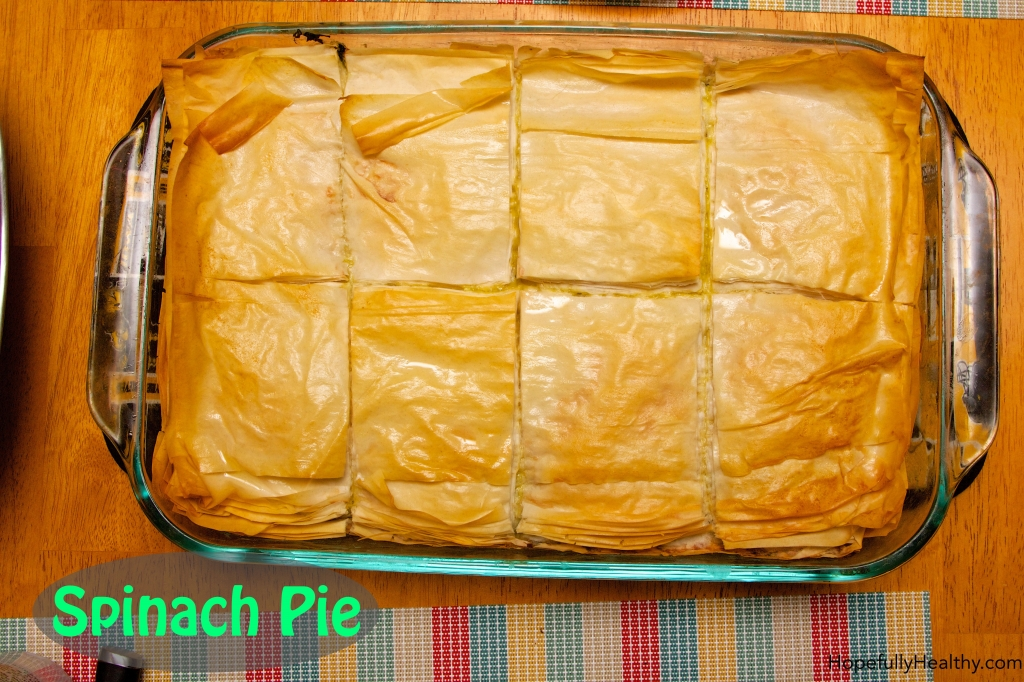 Spinach Pie 4 with Text